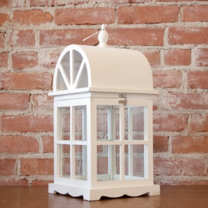 Large White Wood Lantern Decorative White Hanging Lanternplatt Designs