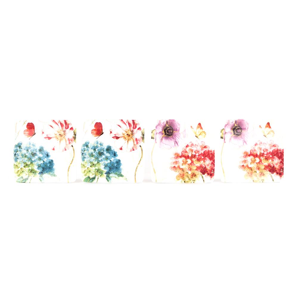 Spring Medley Salad Plates  sc 1 st  Platt Designs & Spring Medley Salad Plates: Decorative Floral and Butterfly Salad ...