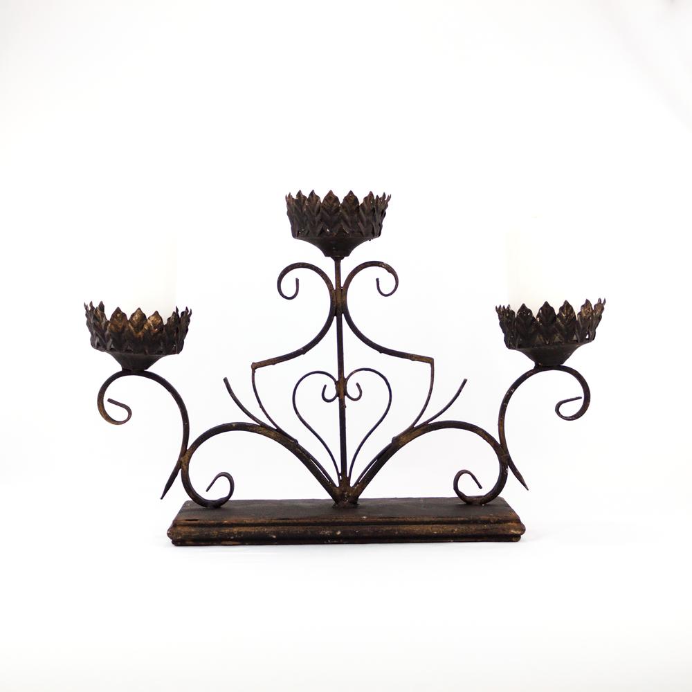 metal scroll candle holder platt designs for the homeplatt designs
