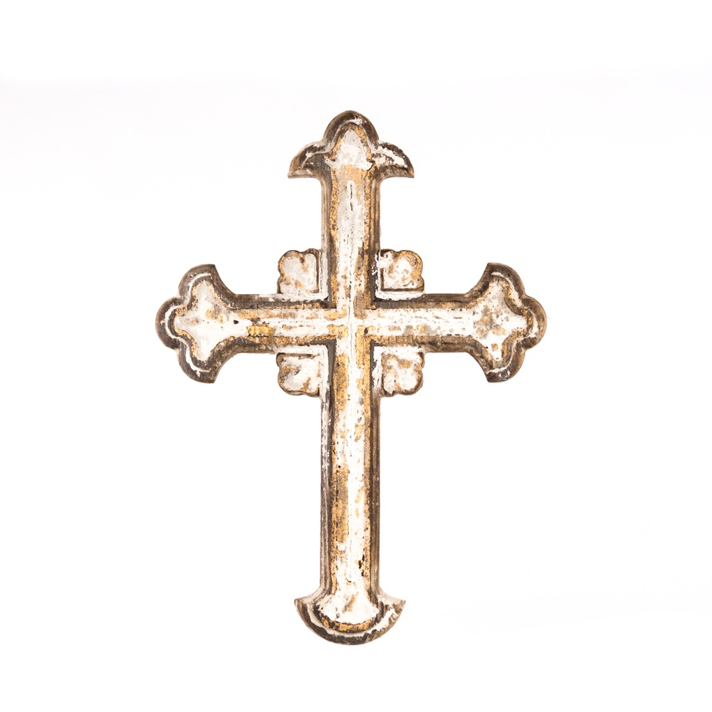 Distressed Wooden Wall Cross
