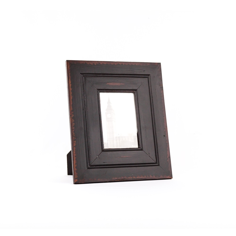 4 X 6 Black Wooden Family Photo Frame Black Wooden Picture
