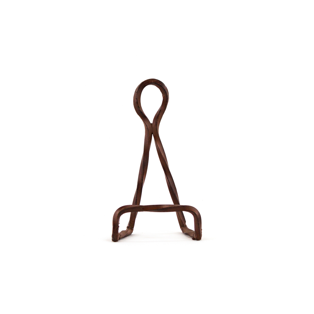 twisted rope easel small plate easel easel easels plate stand plate  sc 1 st  Platt Designs & Twisted Rope Easel Small: Decorative Wrought Iron Display Easel ...