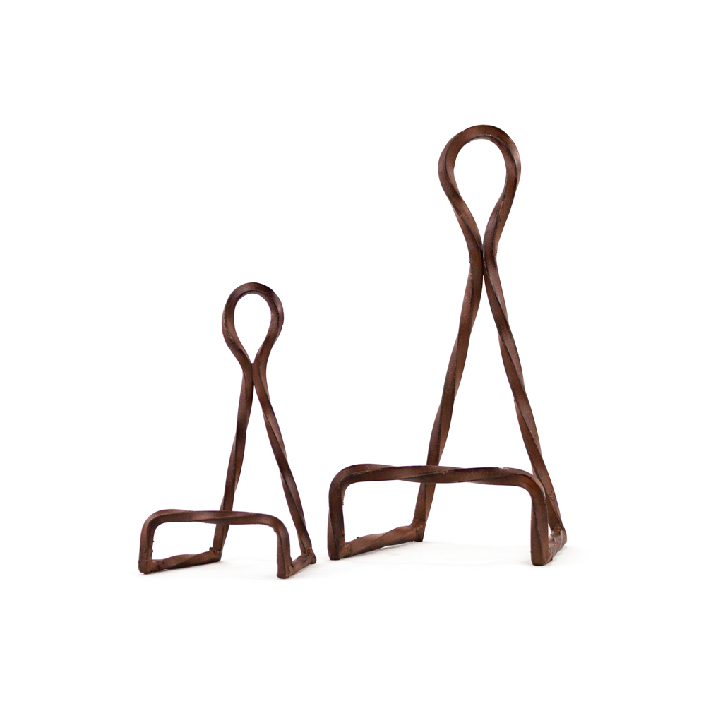 Twisted Rope Easel Small  sc 1 st  Platt Designs & Twisted Rope Easel Small: Decorative Wrought Iron Display Easel ...