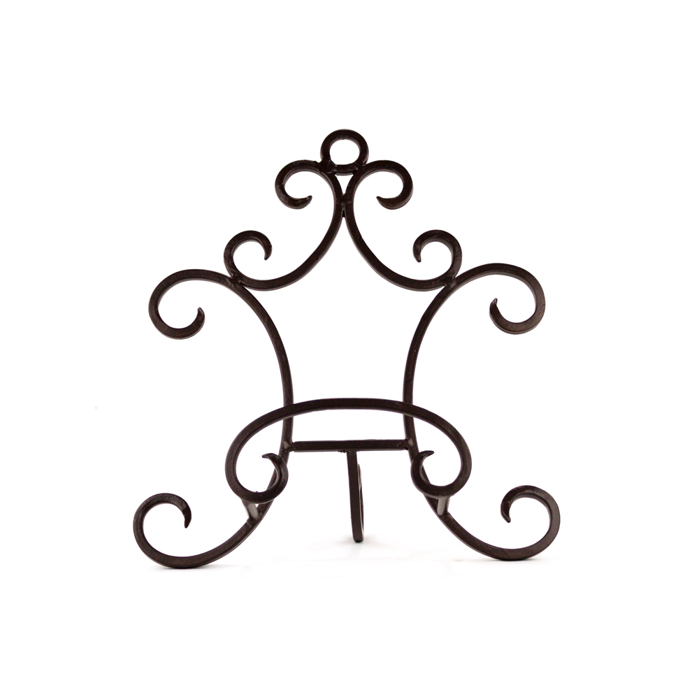 symphony easel plate easel easel easels plate stand plate display stand  sc 1 st  Platt Designs & Symphony Easel: Decorative Iron Table Top Plate Holder Easel ...